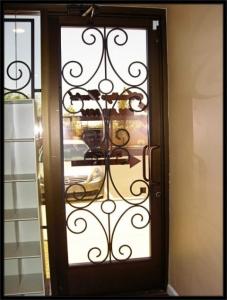 ferforje apartman bina giriş kapısı, modelleri,