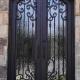 ferforje kapı, ferforje giriş kapısı, ferforje villa kapısı, ferforje bina giriş kapısı