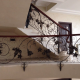 ferforje korkuluk, ferforje merdiven korkulugu, özel tasarım