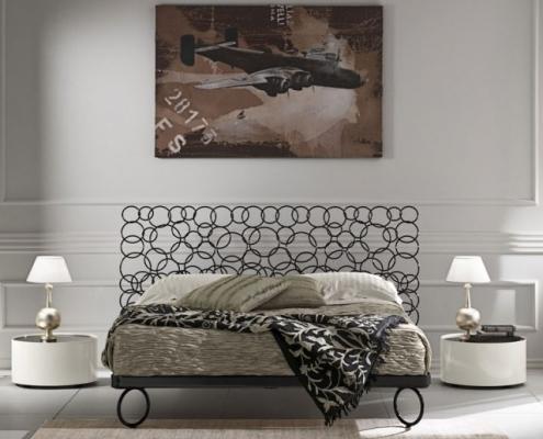 ferforje modern yatak başlıkları, şık tasarımlar, ferforje lazer kesim yatak başlıkları,