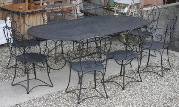 Naturel ferforje masa tak m ferforje naturel for Table exterieur unopiu