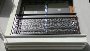 balkon korkuluk, lazer kesim, cnc kesim, modeller, uygulamalar, naturel metal,