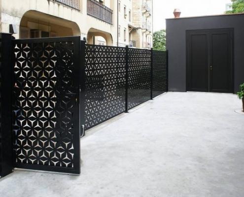 cnc kesim, lazer kesim, bahçe kapıları, lazer kesim modellli kapı uygulaması,