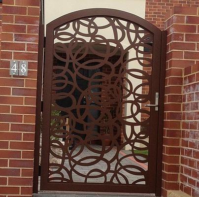 cnc & lazer kesim bahce kapısı, lazer kesim modeller, bahce kapıları,