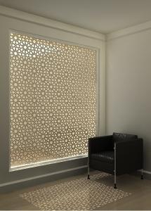 Lazer kesim ile etnik desenler, lazer kesim paneller, lazer kesim tasarım,