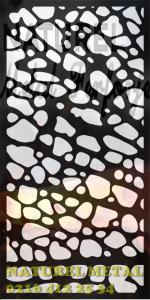 Lazer Kesim Panel, Lazer Kesim Paravan, Lazer Kesim Motif, Metal Lazer Kesim İmalat