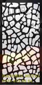 lazer kesim panel, lazer kesim paravan, lazer kesim seperatör, lazer kesim motifler, lazer kesim desenler, NATUREL METAL FERFORJE 0216 412 25 54