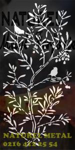 Lazer Kesim, Lazer Kesim naturel panel, lazer kesim desenler