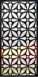 Lazer Kesim Tasarım Desenler, Metal Lazer Kesim, Metal Paneller,