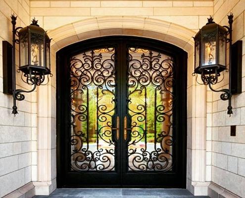 """alt=""""ferforje villa giris kapısı, ferforje bina giris kapıları,"""""""